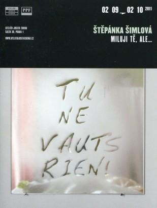 Štěpánka Šimlová: Miluji tě, ale...