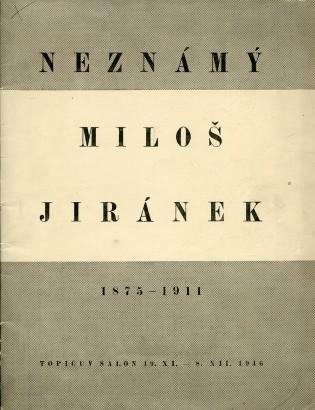 Neznámý Miloš Jiránek