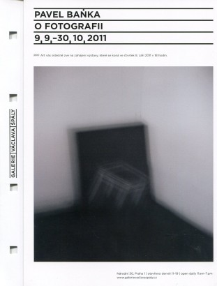 Pavel Baňka: O fotografii