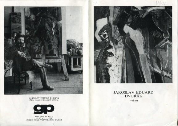 Jaroslav Eduard Dvořák: Vzkazy