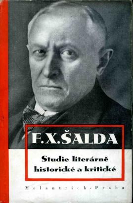Šalda, František - Studie literárně historické a kritické