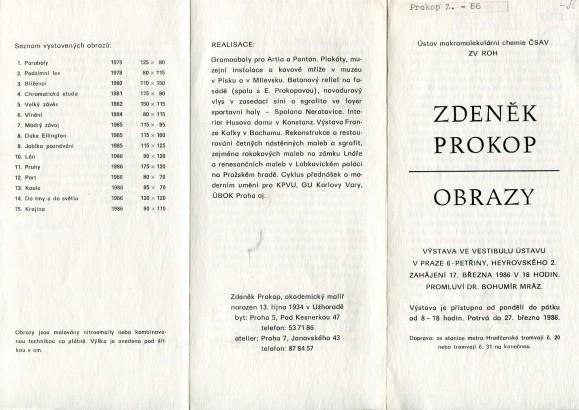 Zdeněk Prokop: Obrazy