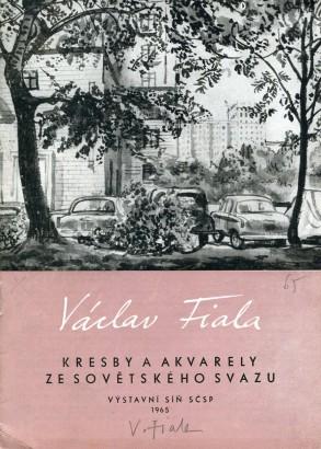 Václav Fiala: Kresby a akvarely ze Sovětského svazu