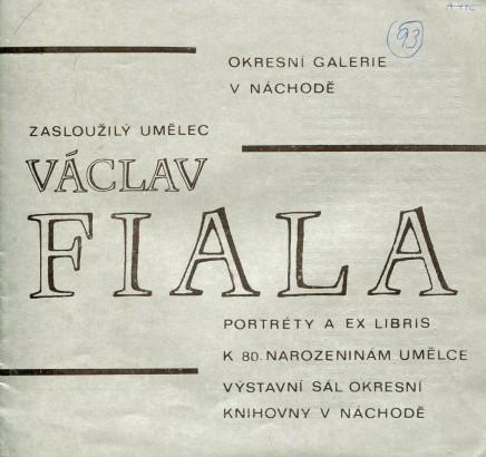 Václav Fiala: Portréty a ex libris