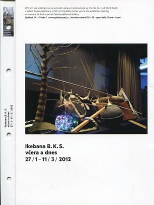 Ikebana B.K.S. včera a dnes