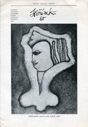 Jaroslav Hořánek: Obrazy, grafika, kresby