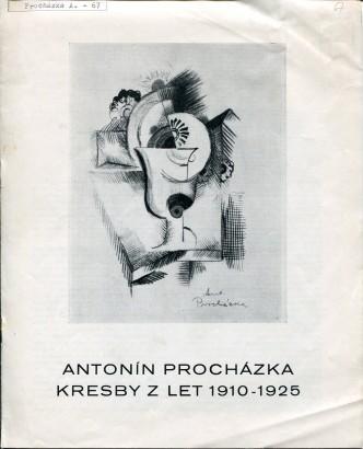 Antonín Procházka: Kresby z let 1910 - 1925