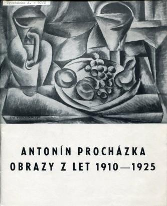 Antonín Procházka: Obrazy z let 1910 - 1925