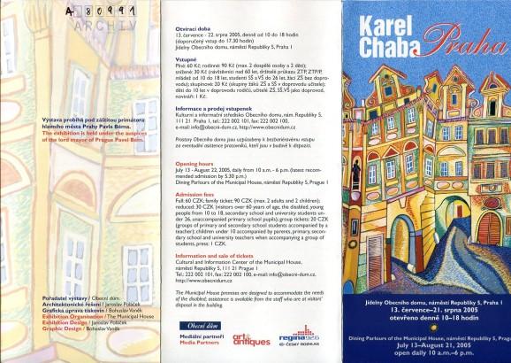 Karel Chaba: Praha