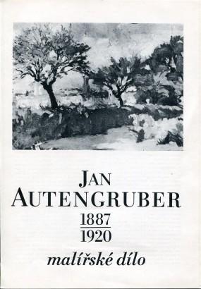 Jan Autengruber 1887-1920