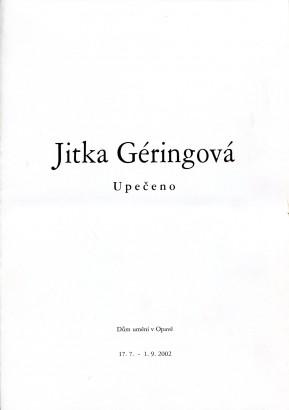 Jitka Géringová: Upečeno