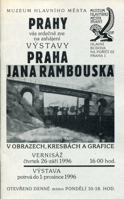 Praha Jana Rambouska v obrazech, kresbách a grafice