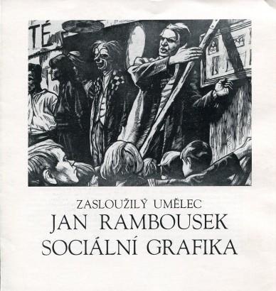 Zasloužilý umělec Jan Rambousek: Sociální grafika