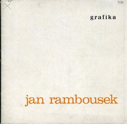 Jan Rambousek: Grafika
