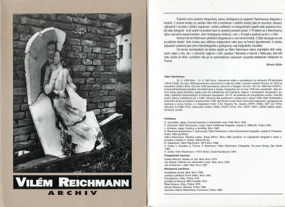 Vilém Reichmann: Archiv
