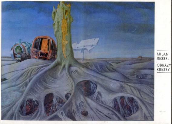 Milan Ressel: Obrazy, kresby