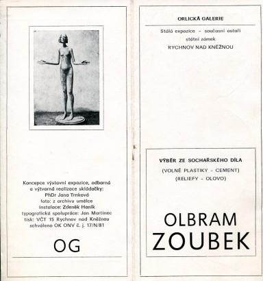 Olbram Zoubek: Výběr ze sochařského díla