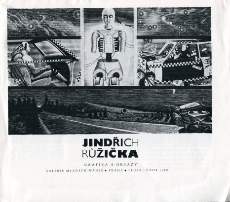 Jindřich Růžička: Grafika a obrazy