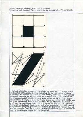 Pavel Rudolf: Kresby, grafiky, koláže