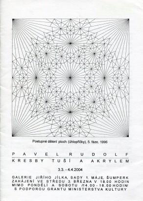 Pavel Rudolf: Kresby tuší a akrylem