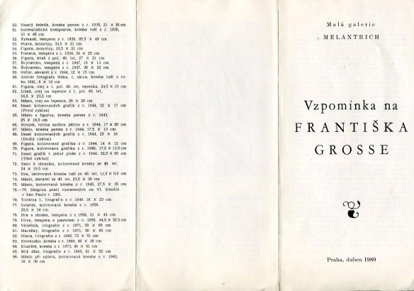 Vzpomínka na Františka Grosse