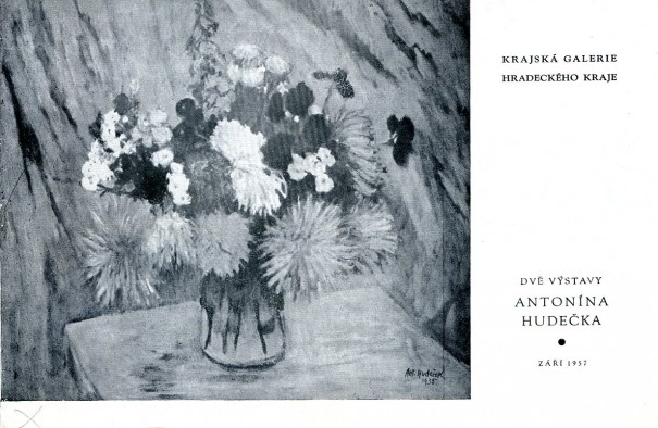 Dvě výstavy Antonína Hudečka