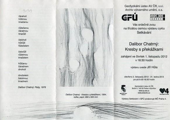 Dalibor Chatrný: Kresby s překážkami