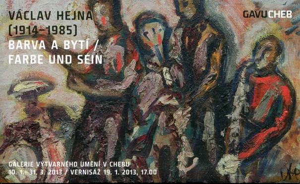 Václav Hejna (1914 - 1985): Barva a bytí / Farbe und Sein