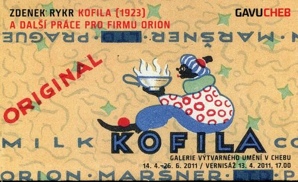 Zdenek Rykr: Kofila, 1923 a další práce pro firmu Orion