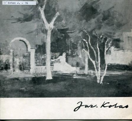 Jaroslav Kotas: Tvorba z let 1970-76