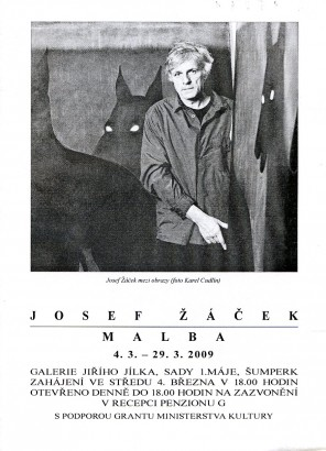 Josef Žáček: Malba