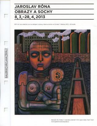 Jaroslav Róna: Obrazy a sochy