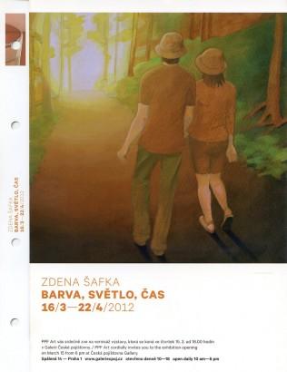 Zdena Šafka: Barva, světlo, čas