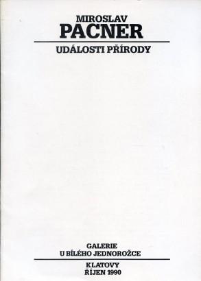 Miroslav Pacner: Události přírody