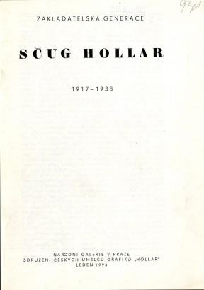 SČUG Hollar: Zakladatelská generace 1917-1938