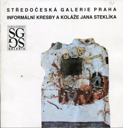 Informální kresby a koláže Jana Steklíka